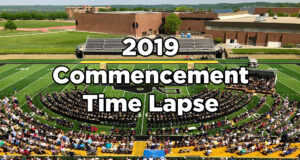 2019 Commencement Time Lapse